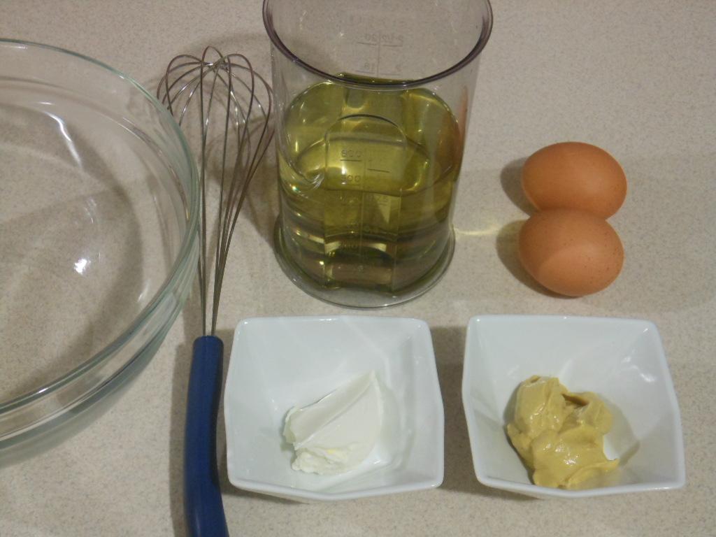 Domowy majonez - składniki