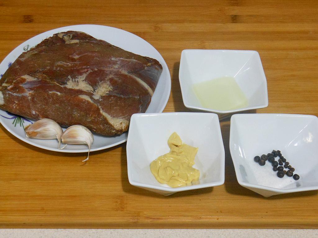 Mięso i marynata - składniki