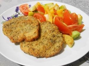 Kotlety drobiowe z warzywami