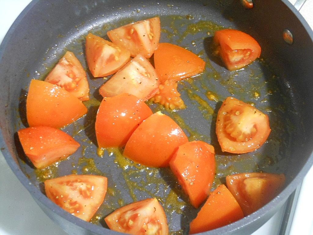 Przygotowanie pomidorów