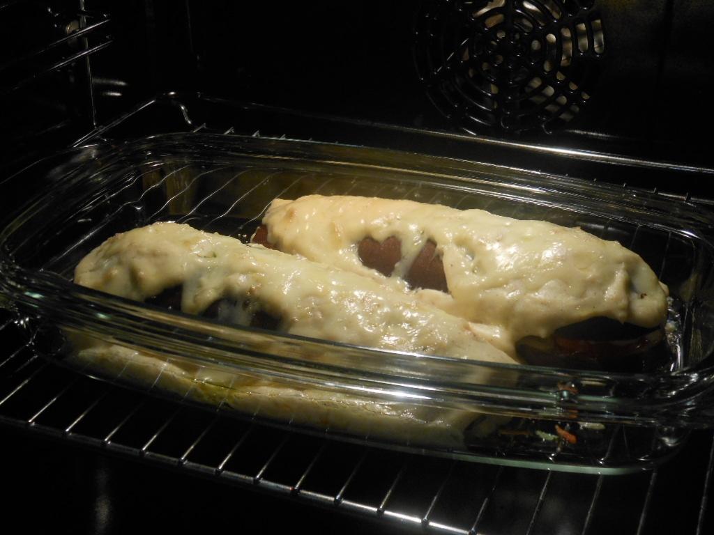 Bakłażana pieczemy przez 35 minut