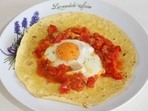 Jajka po ranczersku