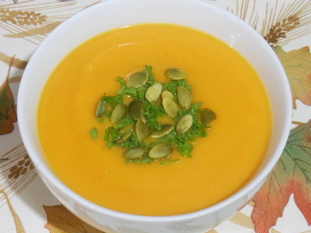 Klasyczna zupa dyniowa