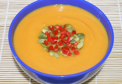 Egzotyczna zupa dyniowa