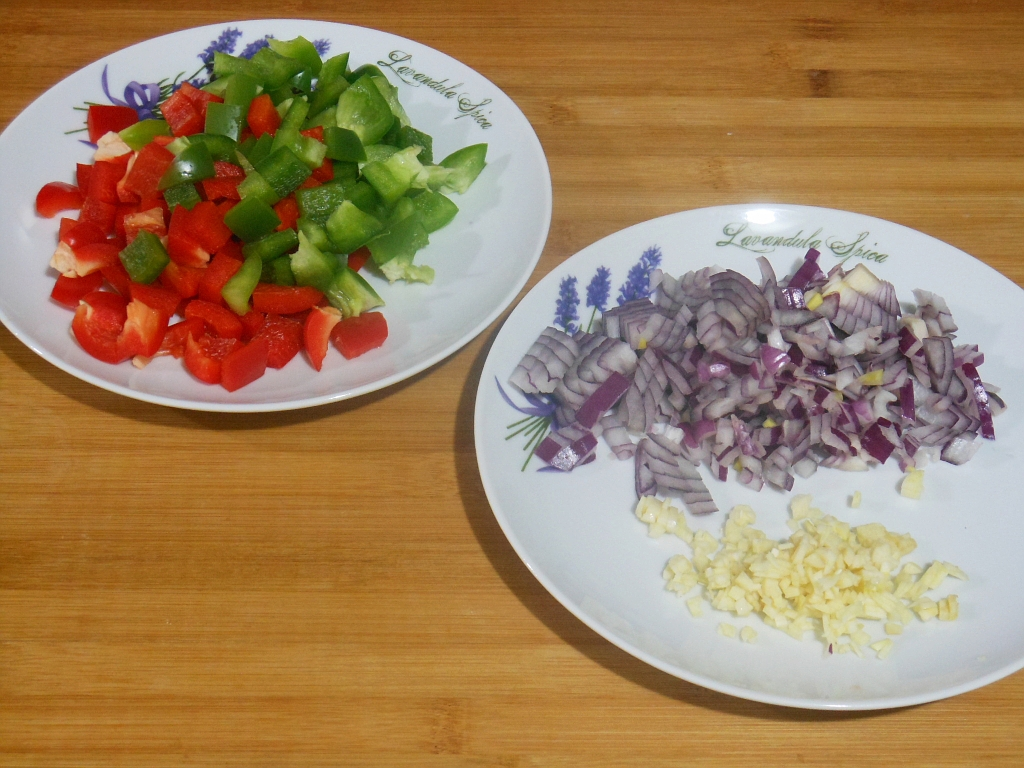 Pokrojone warzywa