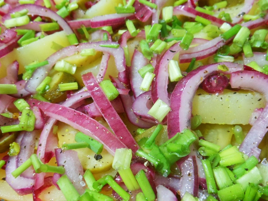 Salatka Ziemniaczana Kartoffelsalat Kulinarna Pokusa