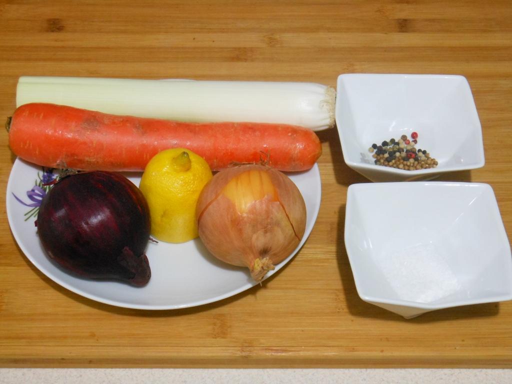 Składniki wyjściowe - warzywa