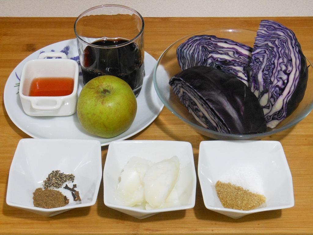 Kapusta - składniki