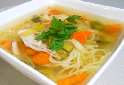 Holenderska zupa z kurczaka